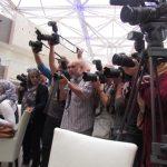 Showtime und viele Bilder der Kuwait Presse von Sir Julian
